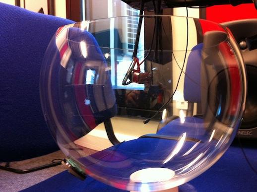 bowl 7 - deep almost-hemisphere, 14 inch across
