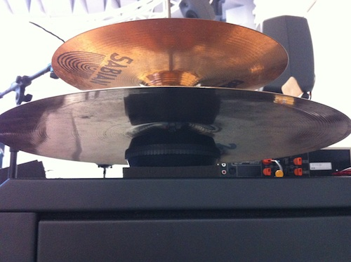 two cymbals